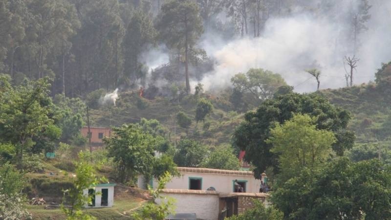Woman wounded critically as unprovoked Indian firing continues on LoC