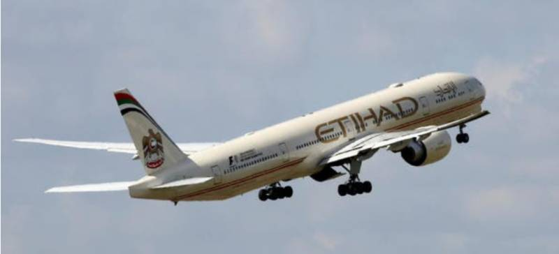 Etihad Airways too suspends flights operation from Pakistan