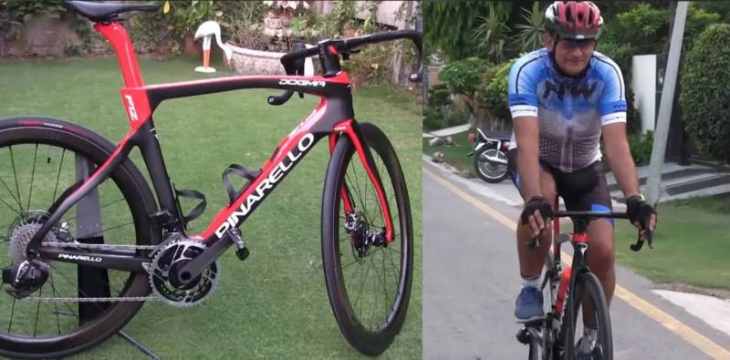 Meet the Pakistani who owns bicycle worth Rs24 lakhs