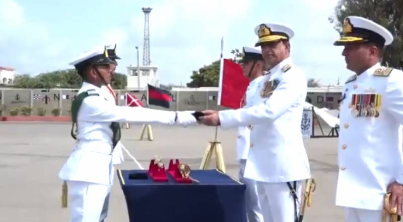Navy holds 113th Midshipmen, 22nd SSC Course passing out parade