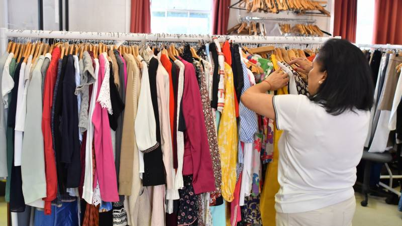 Reopened stores bright spot for UK's stretched charity sector
