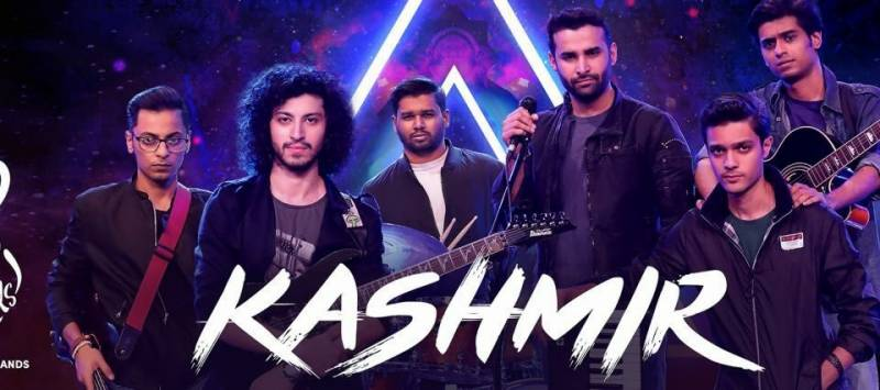 Kashmir Band wows audiences with a virtual concert