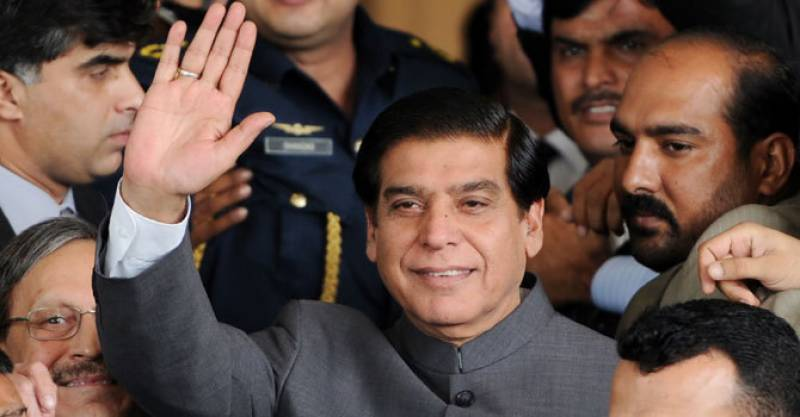 Lady luck smiles twice in a week on Raja Pervaiz Ashraf