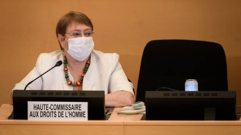 UN rights chief slams virus response in China, Russia, US