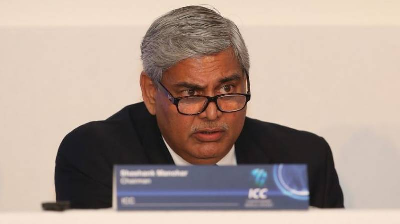 ICC Chairman Shashank Manohar steps down