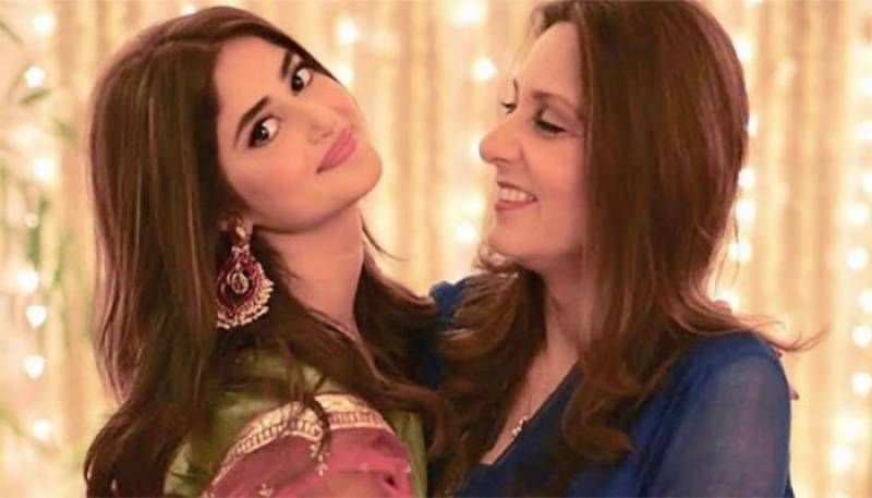 Sajal's mother-in-law to release a song soon