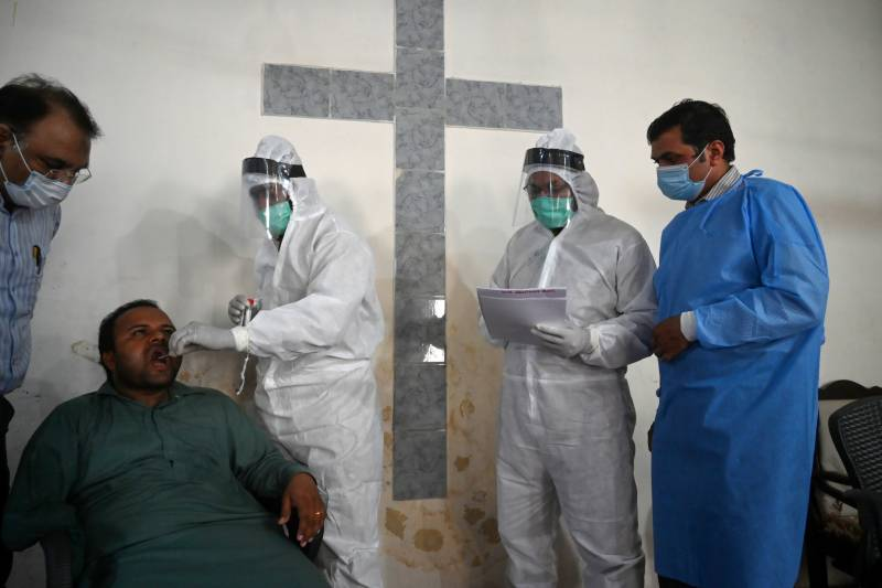 Pakistan reports 4,133 Covid-19 cases, 91 deaths