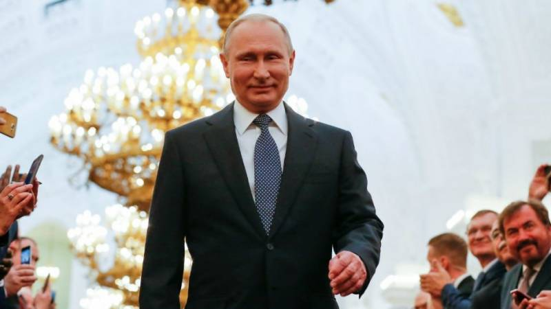 Putin thanks Russians for 'support and trust' after vote