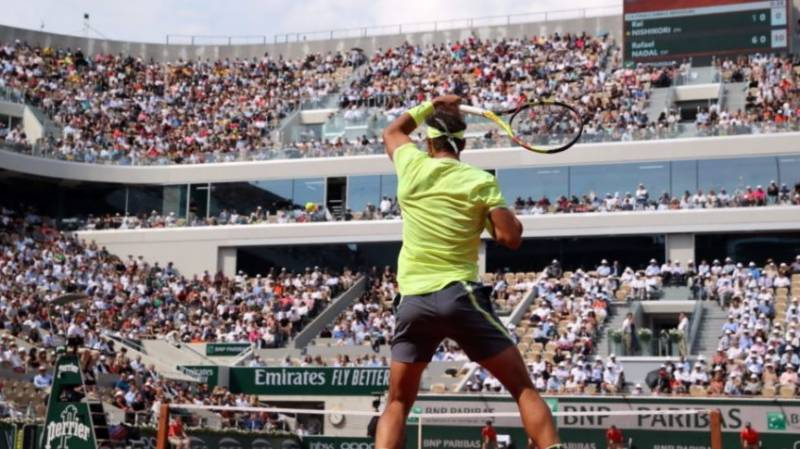 Up to 20,000 spectators to attend French Open each day