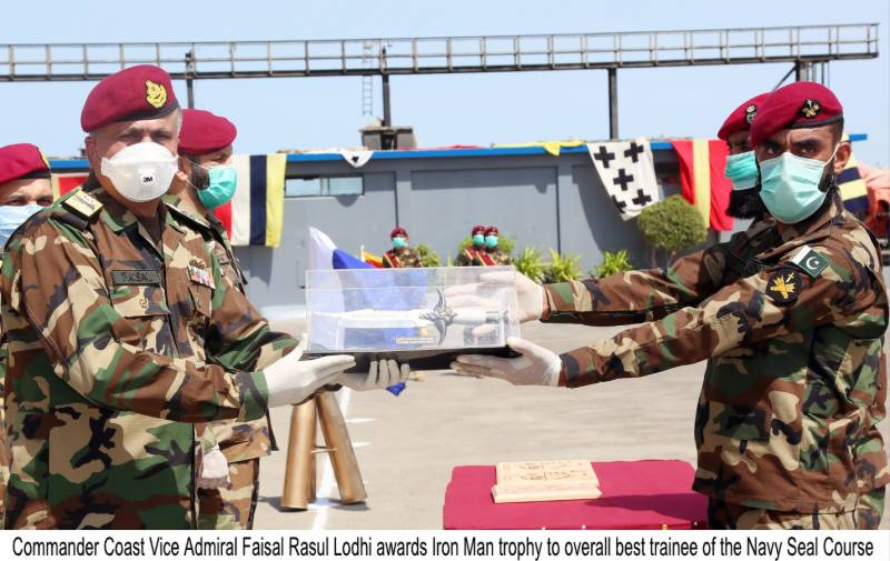 Pakistan Navy SEALS passing-out parade held