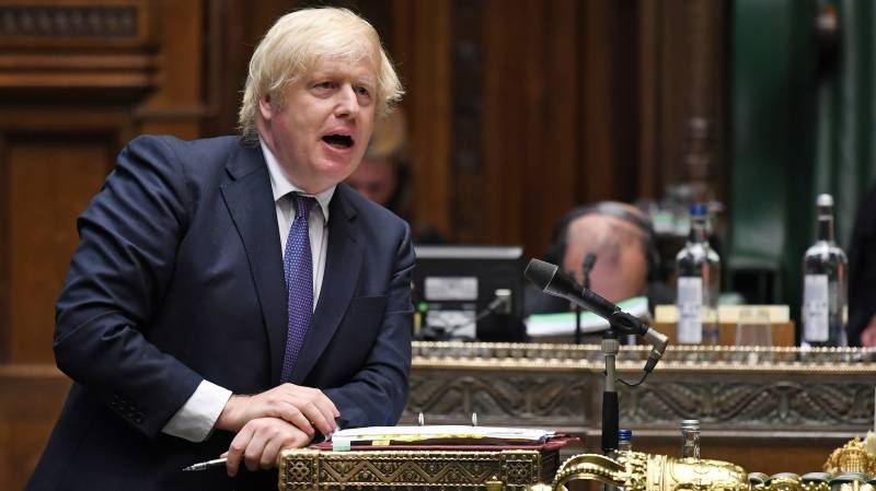 UK PM Johnson says teas an issue in upholding cricket virus ban
