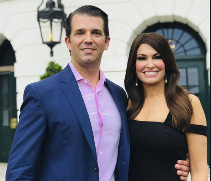 Donald Trump Jr's girlfriend coronavirus positive