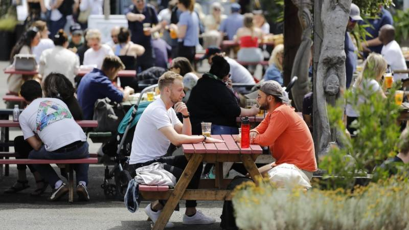 'Eat out to help out', finance chief tells Britons