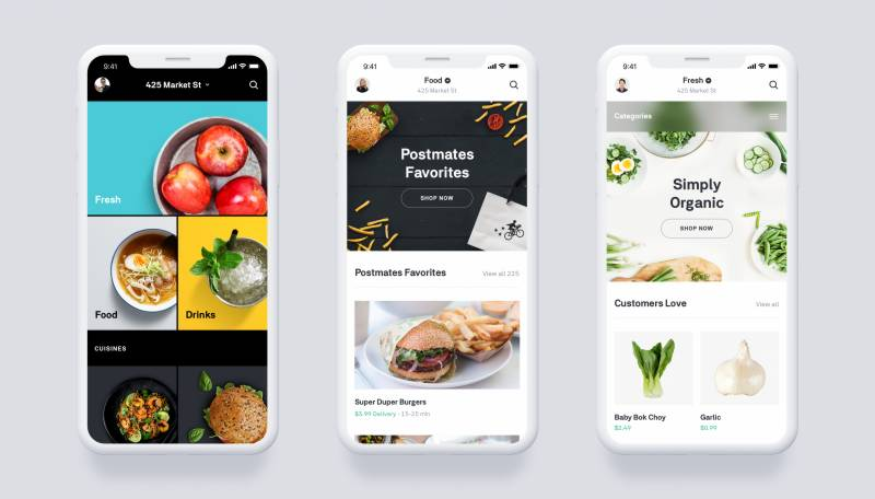 Uber agrees deal to buy food delivery app Postmates