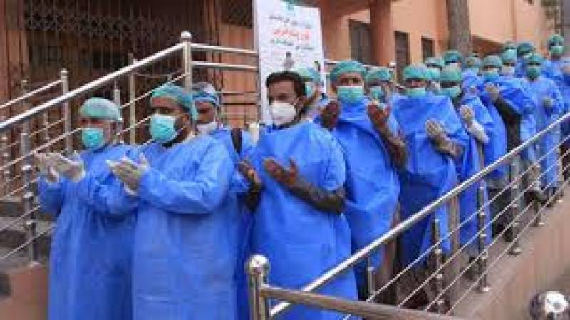 KP doctors want risk allowance, not certificates and salutes
