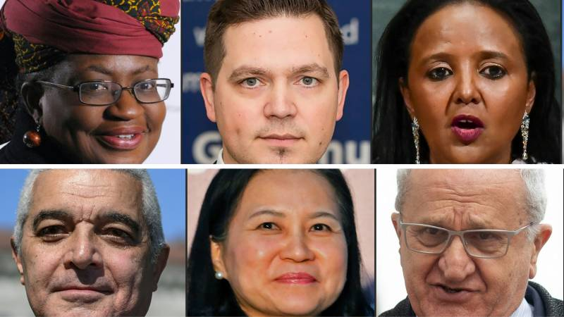 Six candidates battle it out for WTO leadership