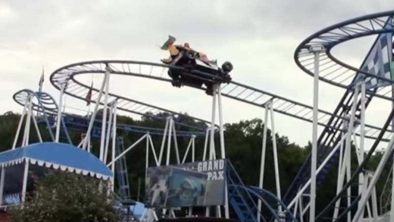 Charges brought in France after woman plummets from roller coaster