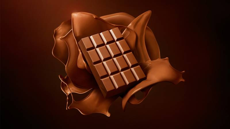 Chocolate also melts down during lockdown