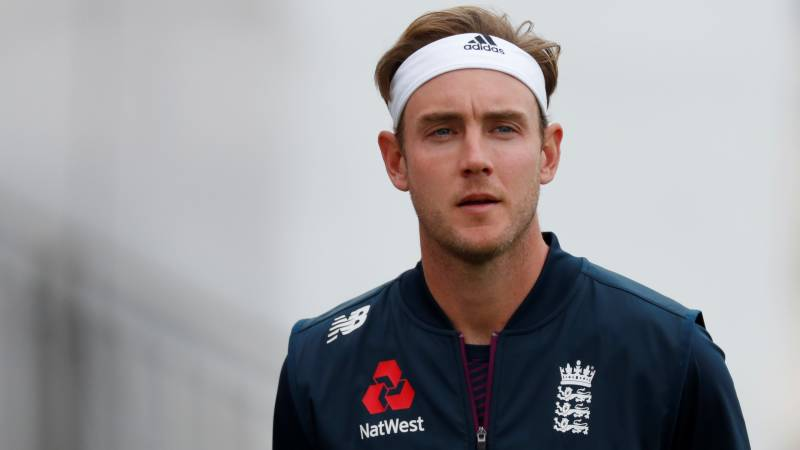 Broad reveals 'anger' at England Test axe