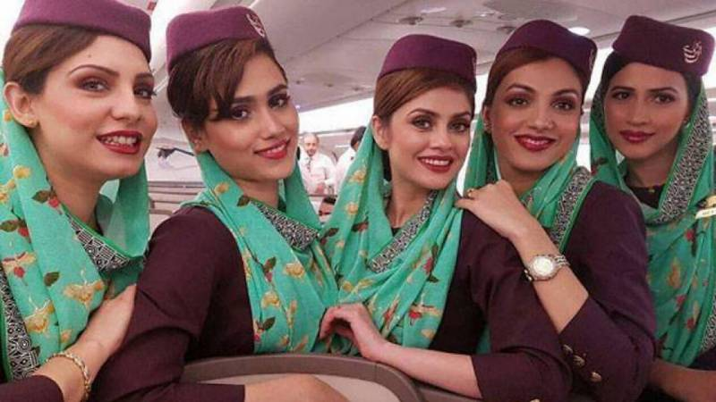 PIA airhostess misbehaves with lady doctor at Peshawar Airport