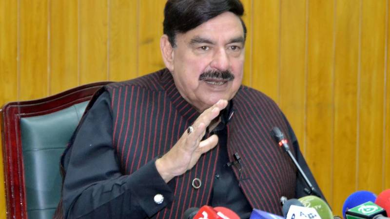 Entire 'garbage' to be cleared in four months: Sheikh Rashid