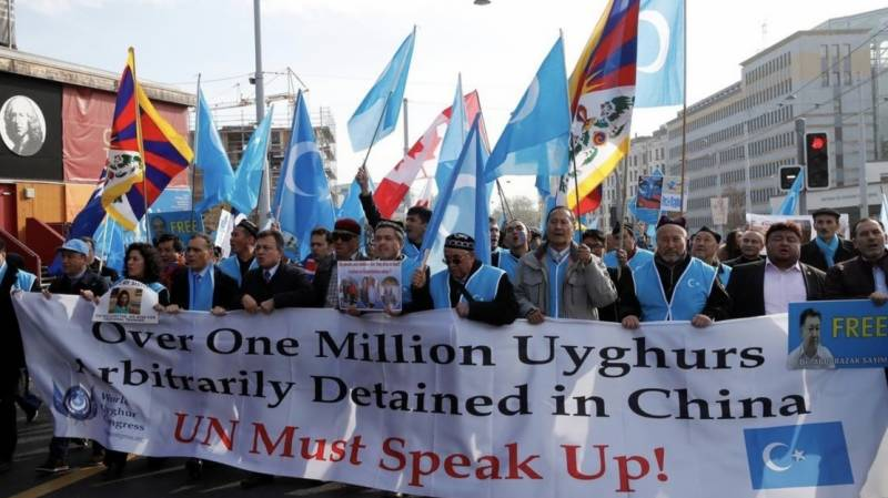 US takes action against senior Chinese officials over Uighur rights