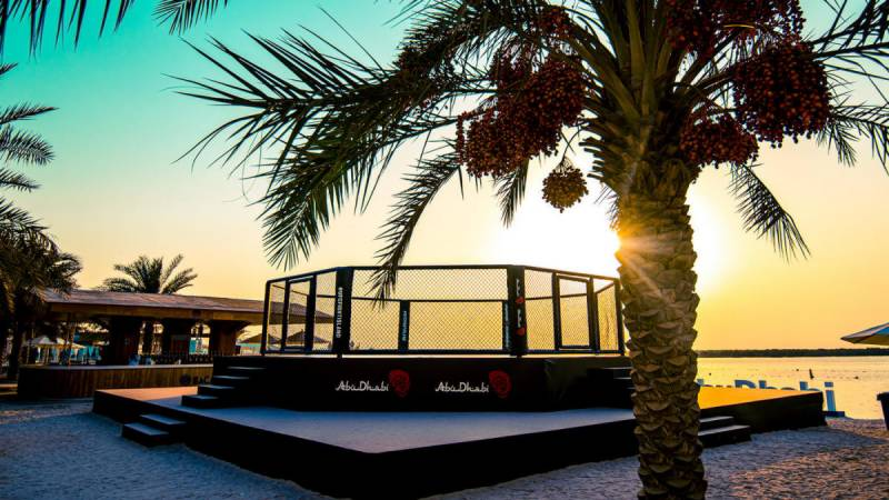 MMA's 'Fight Island' concept debuts in Abu Dhabi