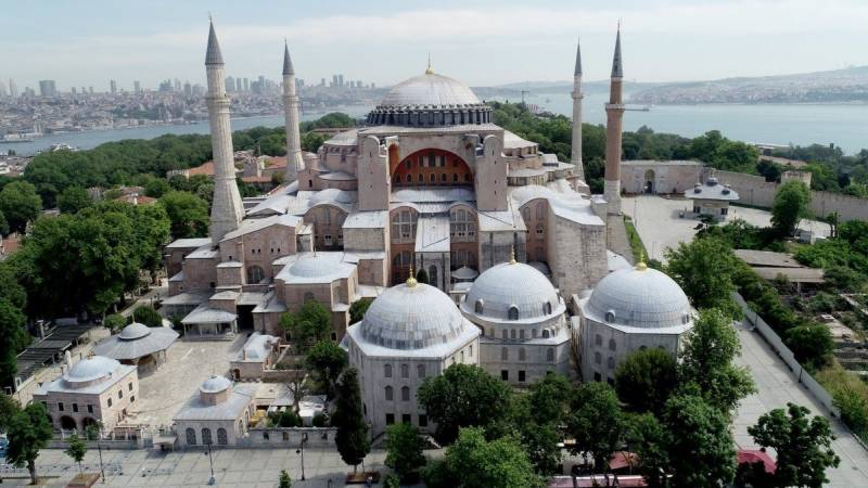 US 'disappointed' by Turkey move on Hagia Sophia