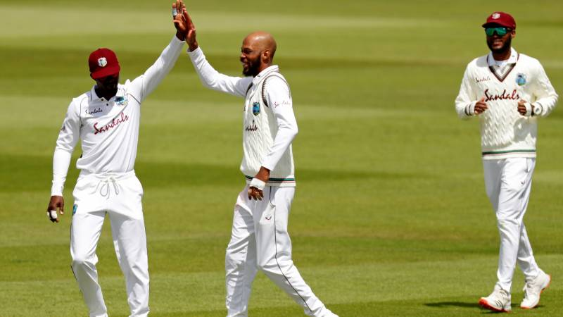 Chase double keeps Windies on top against England in first Test