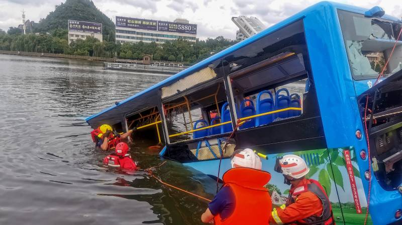 Disgruntled driver blamed for China bus tragedy