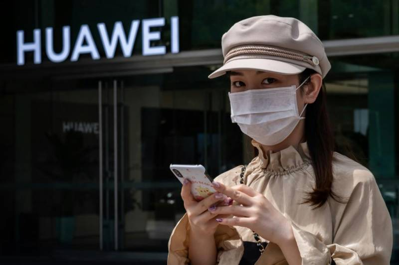 Huawei reports 13.1 percent sales rise in first half