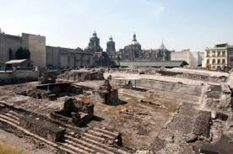 Ancient Aztec palace ruins found in Mexico City