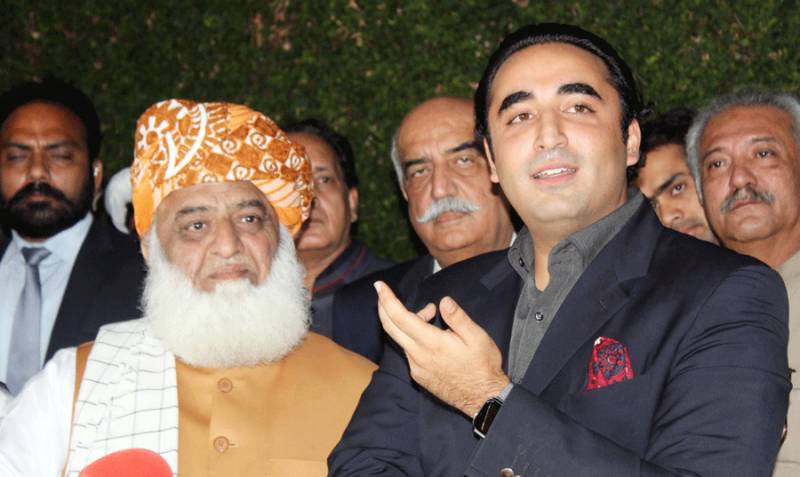 Bilawal discusses political situation with Fazl