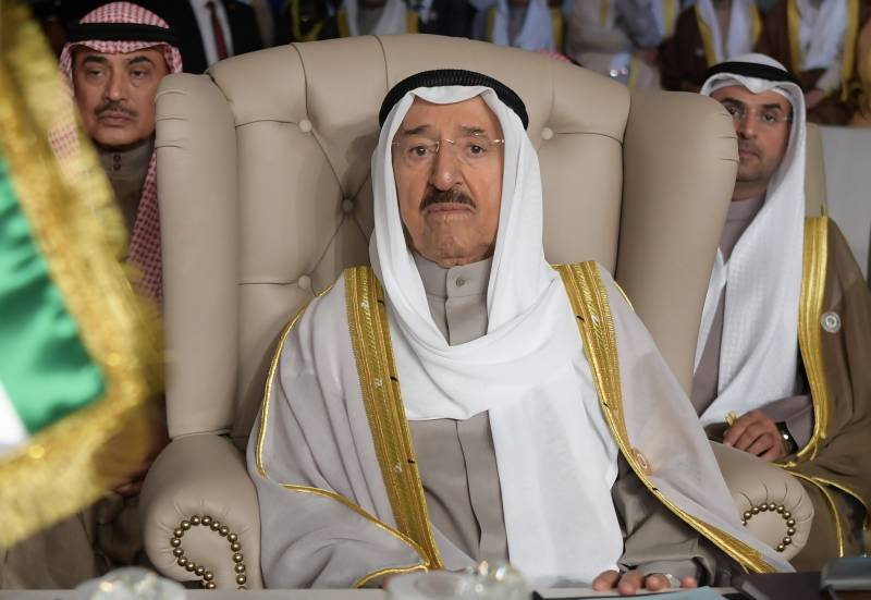 Kuwait's ruler hospitalised, crown prince steps in