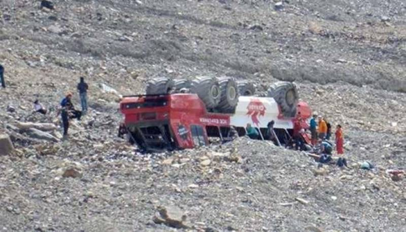 Three dead after glacier tour bus rolls over in Canada