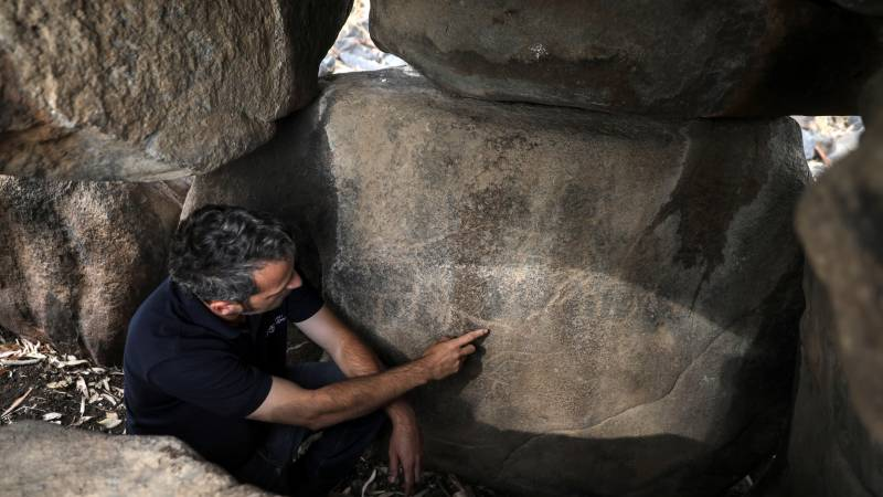 Ancient Golan rock art sheds light on mysterious culture