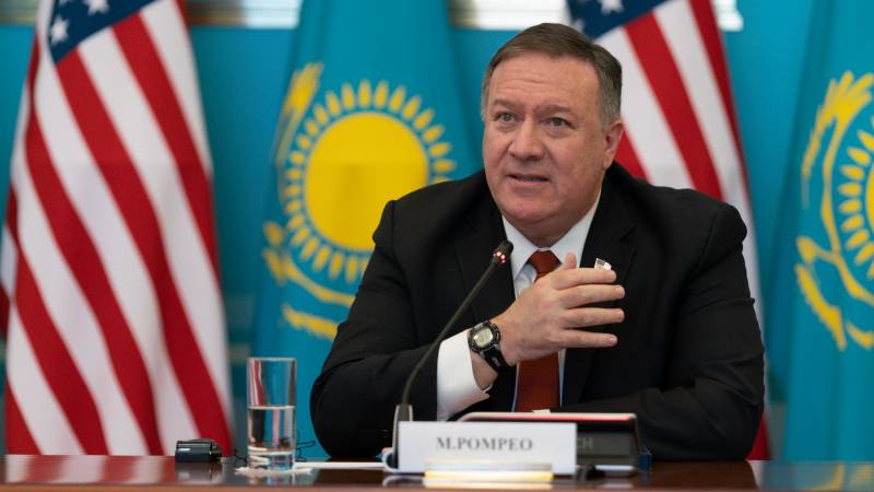 Pompeo urges 'entire world' to stand up to China