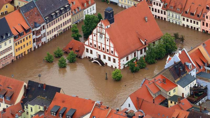 Europe flooding period worst in 500 years