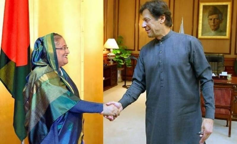 Imran Khan phones BD PM Hasina, asks about Covid-19 situation