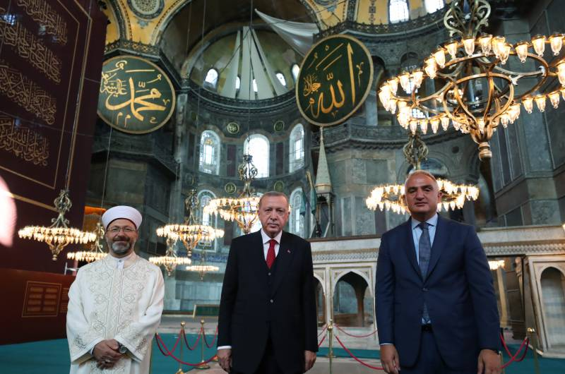 First prayers offered at Hagia Sophia mosque