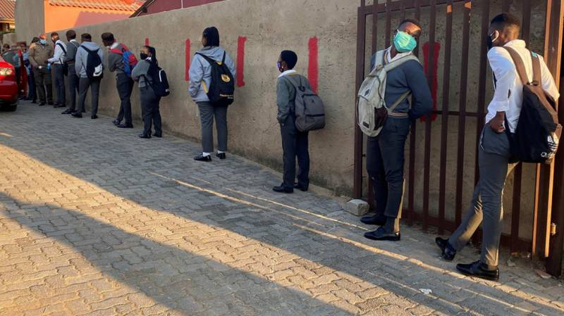 South Africa to close schools again over virus