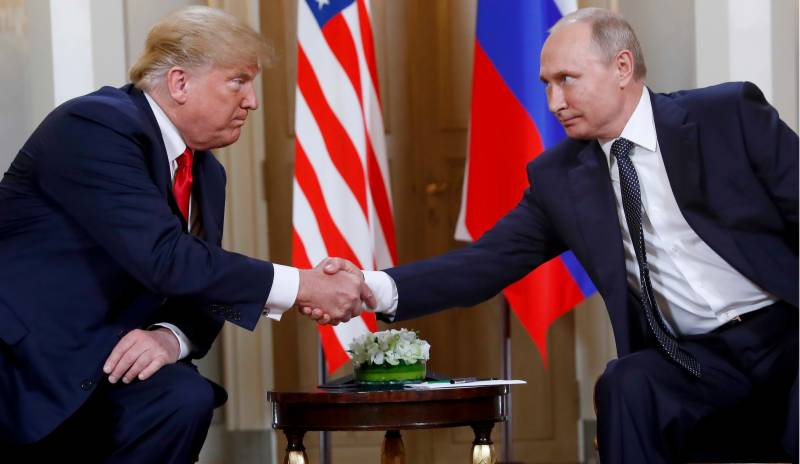 US trying to avoid arms race with Russia and China, Trump tells Putin