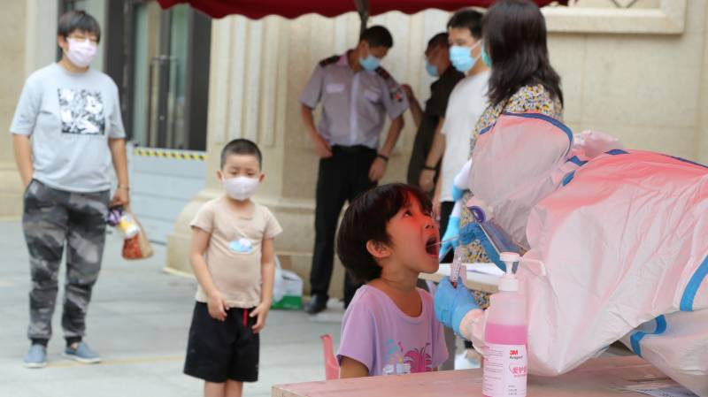 China reports virus spike as global cases pass 16 mn