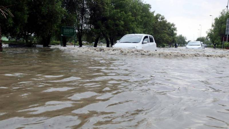 Four die in Karachi rain, power supply disrupted, cars go floating