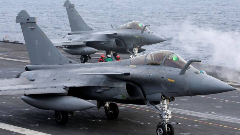 First French fighter jets head to India after purchase