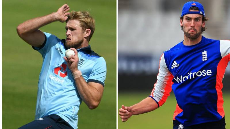 Willey and Topley get England recalls for Ireland ODIs