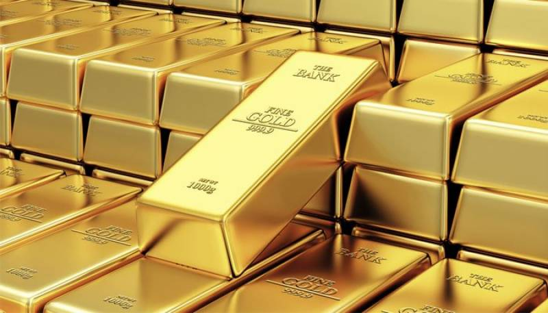 Gold eases from new record, equities mixed