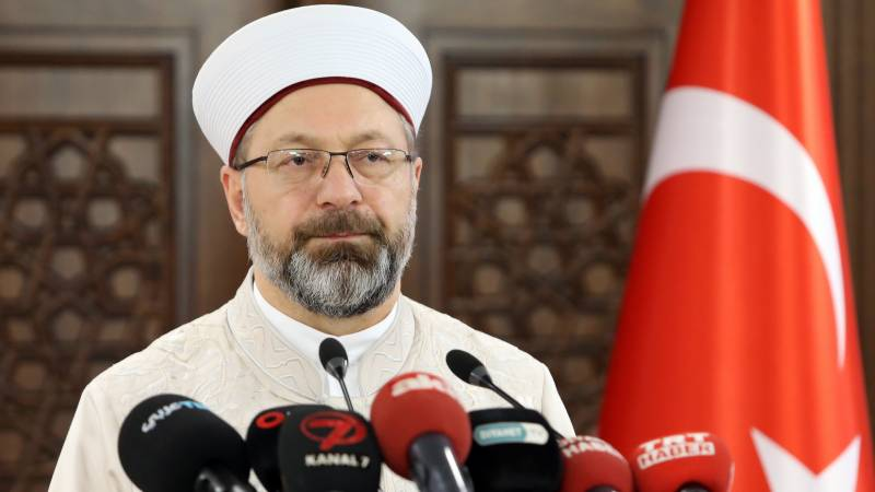Turkey defends top cleric over Ataturk 'insult' controversy