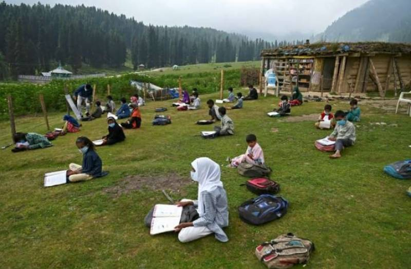 In Kashmir, the hills are alive with the sound of schooling