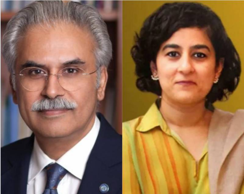 Two Special Assistants to PM Dr Zafar Mirza, Tania Aidrus resign